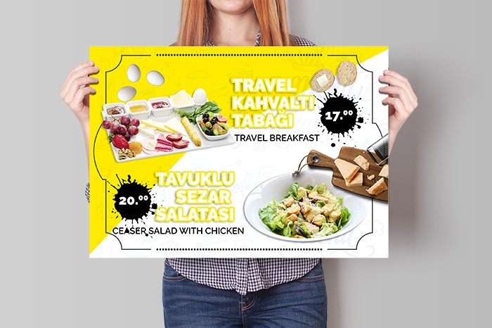 Travel Cafe Poster